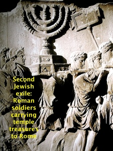 The second Jewish exile in 70 AD