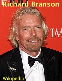 Richard Branson, Wikipedia