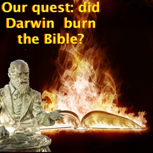 The quest: did Darwin burn the Bible?  copy
