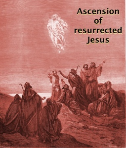 Ascension of resurrected Jesus