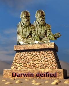 Darwin deified