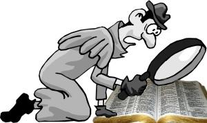 Investigating Scripture