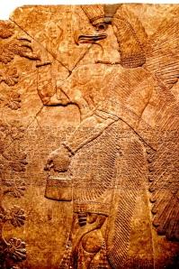 Assyrian eagle man, British museum