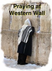 Praying, Western Wall
