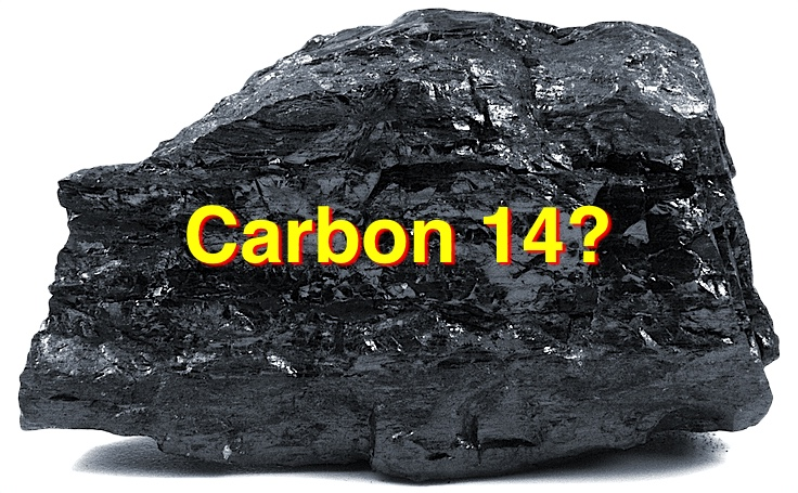 The earth is really 10 years old according to carbon dating