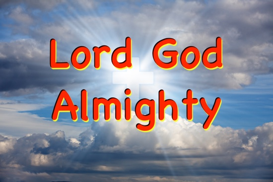 God, the Almighty in the book of Revelation