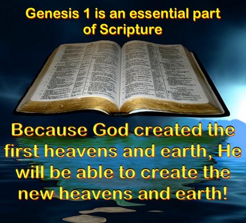 Why Genesis 1 leads to bigbenefits
