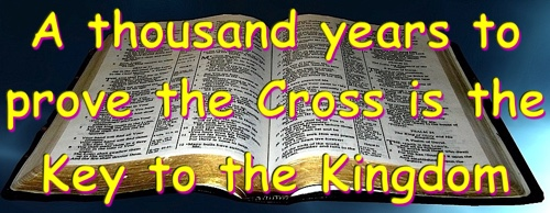The King on the Cross is the Key to the Kingdom.